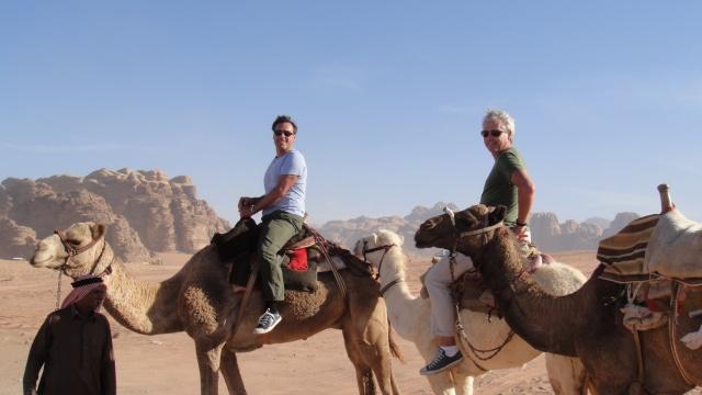 Camel Riding in Wadi Rum
