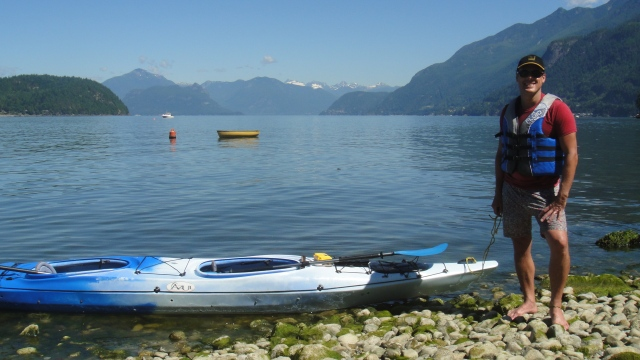 Howe Sound Paddler