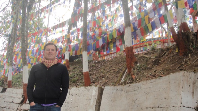Ghostly Prayer Flags
