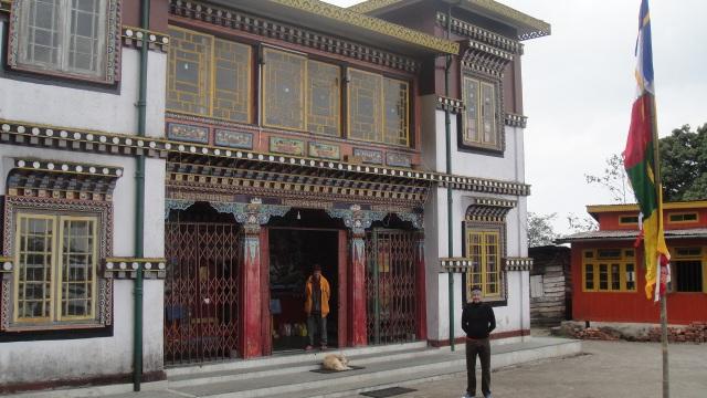 Bhutia Busty Gompa Tibetan Buddhist Monastery